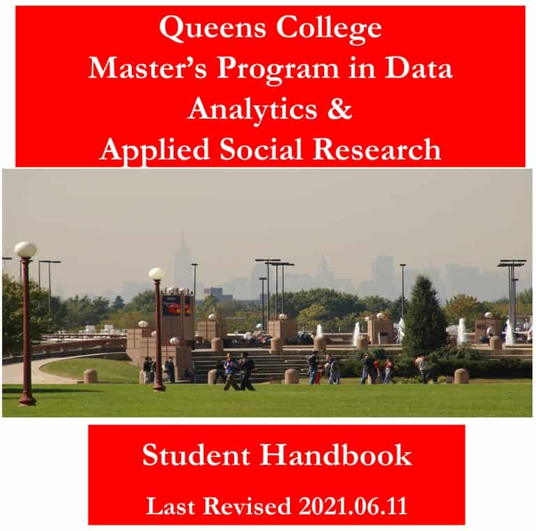 MA Student Handbook 2021